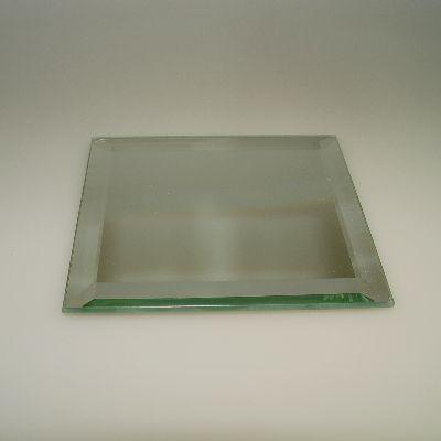 spiegel quadratisch 6x6 cm facettenschliff glas geschenke. Black Bedroom Furniture Sets. Home Design Ideas
