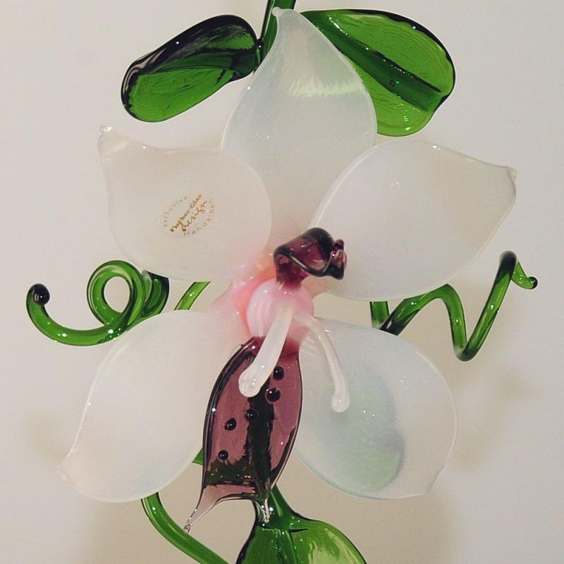 orchidee zum h ngen wei rose flieder neu glas geschenke. Black Bedroom Furniture Sets. Home Design Ideas