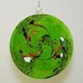 Dekorscheibe moosgrün