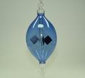 Lichtmühle  hängend, Olive 60 mm blau