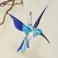 Kolibri Mini, kristall, hellblau, kobaltblau  -NEU-