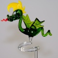 Orchideenstab Drachen  grün-gelb