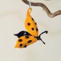 Glückskäfer zum Hängen orange, Flügel offen -Neu-