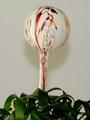 Blumendurstkugel weiß mit farb. Granulaten