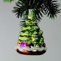 Weihnachtsbaum, stehend, kiwi matt, bronze, blau u.lila bem.