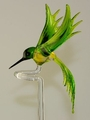 Orchideenstab Kolibri gelb-grün