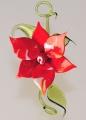 Blütenzweig zum Hängen und Liegen, rotweiß meliert