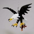Weißkopfseeadler mit Fisch