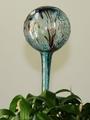 Wasserspenderkugel aquablau farb. Granulaten