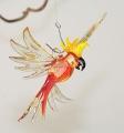 Kakadu klein, hängend, orange  -NEU-