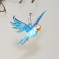 Wellensittich blau-weiß  Mini  -NEU-