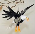 Weißkopfseeadler mit Krallen fliegend  groß -NEU-