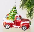 LKW mit Weihnachtsbaum      -NEU-