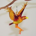 Fischadler hängend   -NEU-