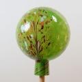Gartenkugel Granulat gedecktes grün