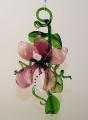 Orchidee zum Hängen, violett-weiß  -NEU-