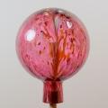 Gartenkugel Granulat  rubinrot