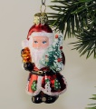 Weihnachtsmann mit  Baum  NEU
