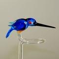 Orchideenstab Eisvogel blau