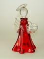 Glasengel rot, Glasmacherarbeit