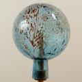 Gartenkugel Granulat aquablau