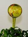Wasserspenderkugel zitronengelb mit farb. Granulaten