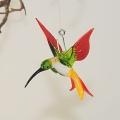 Kolibri Mini, kristall, grün, rot, gelb  -NEU-