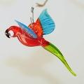 Papagei,  mini, rot-blau-grün